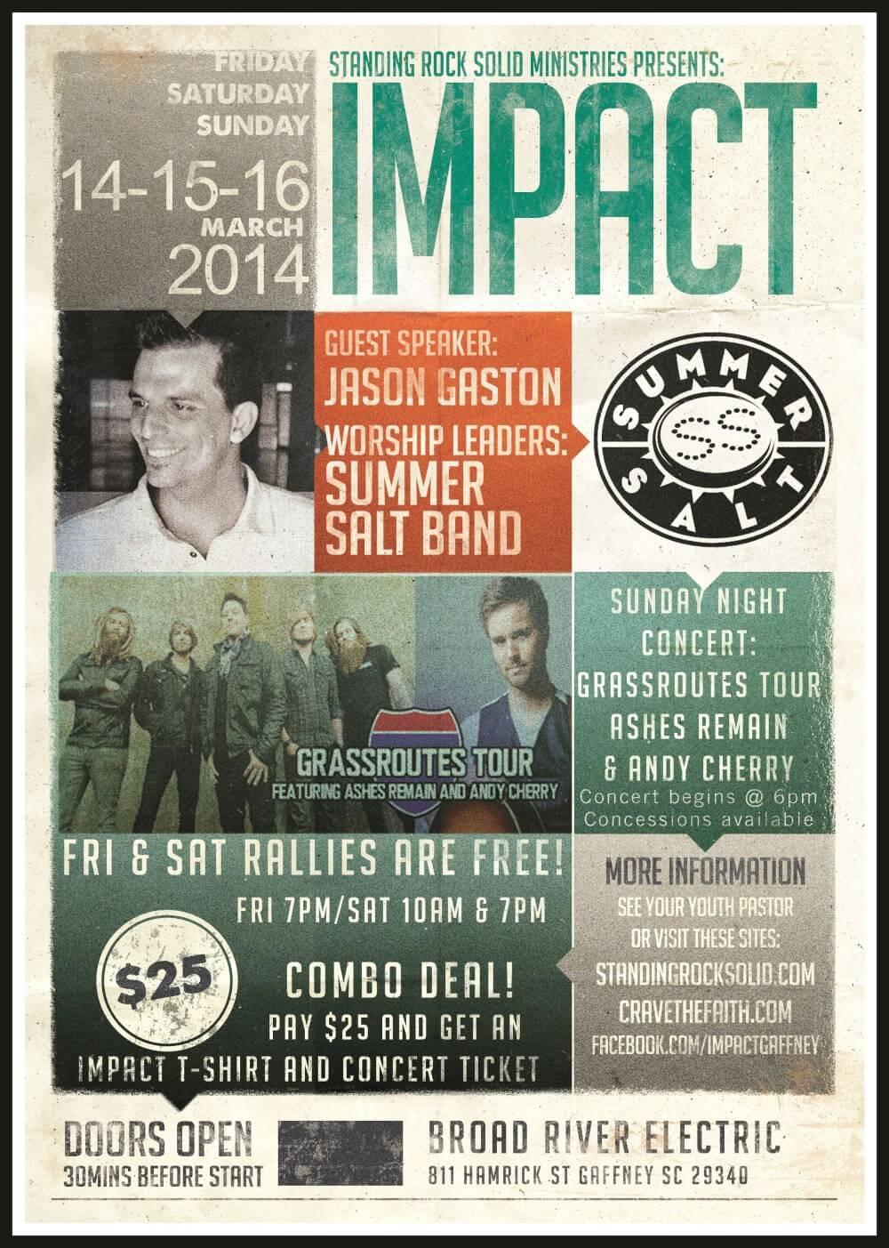 Impact 2014 Poster