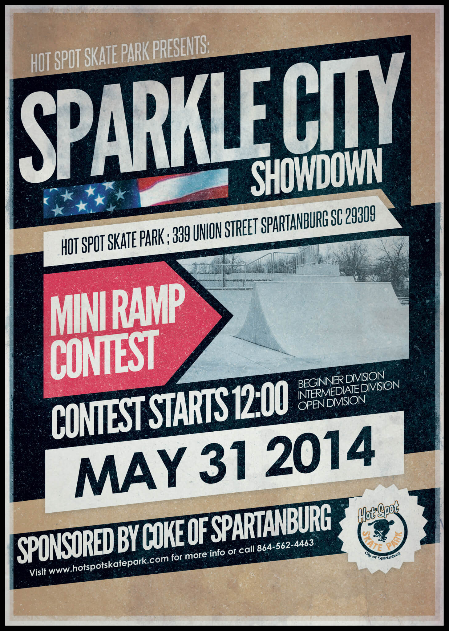 Sparkle City Showdown Contest Poster