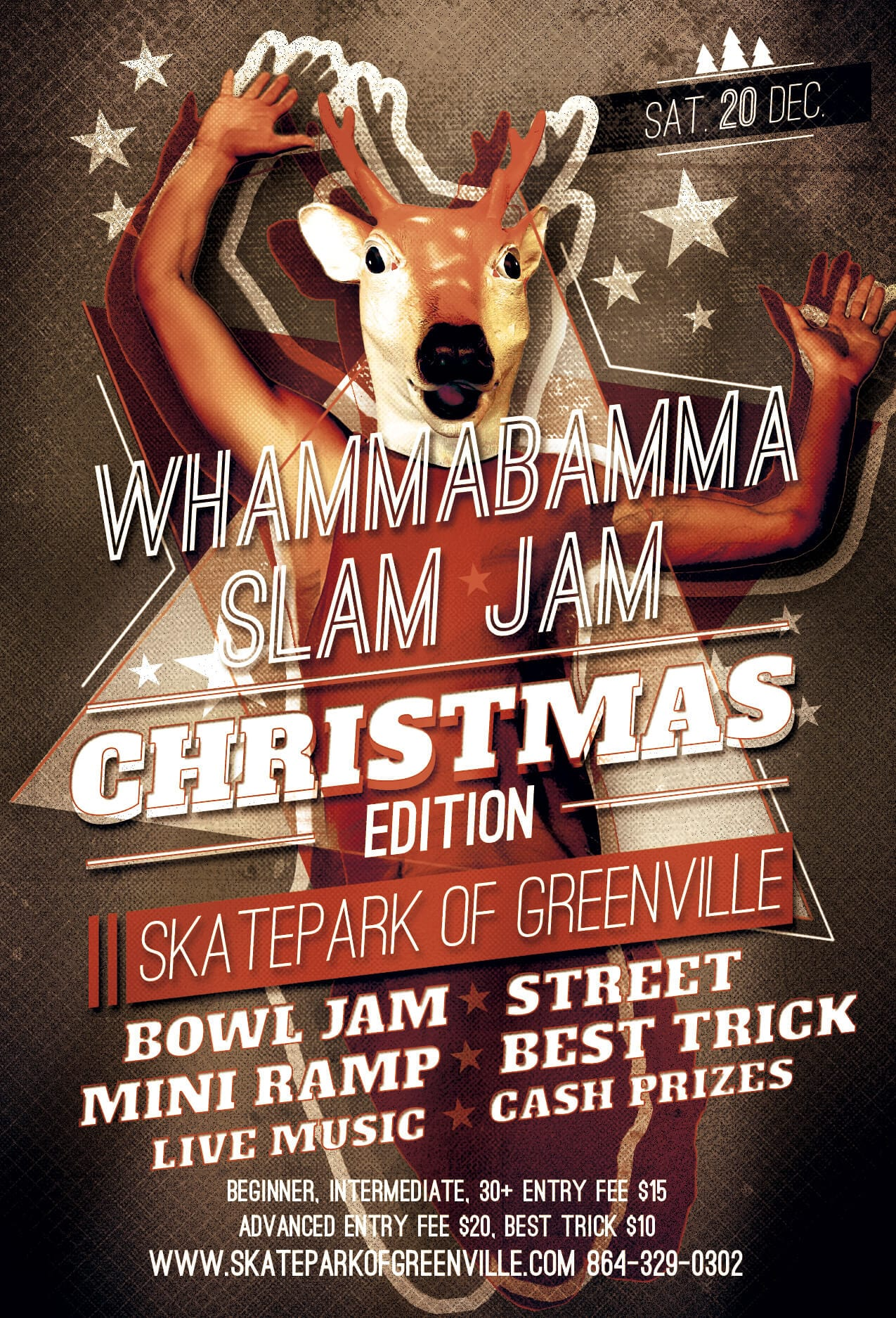 Whammabamma Slam Poster