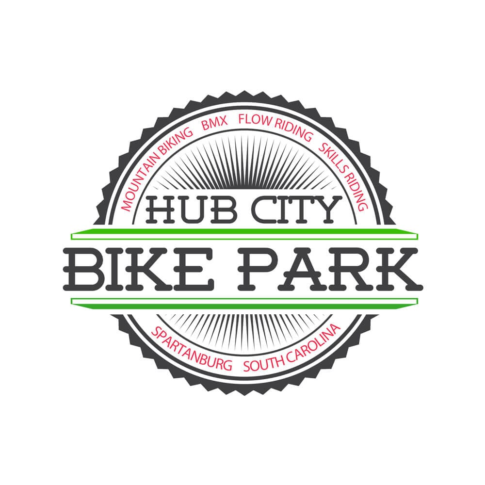 Spartanburg, SC Hub City Bike Park Logo