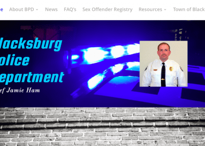 Blacksburg Police Dept – Website